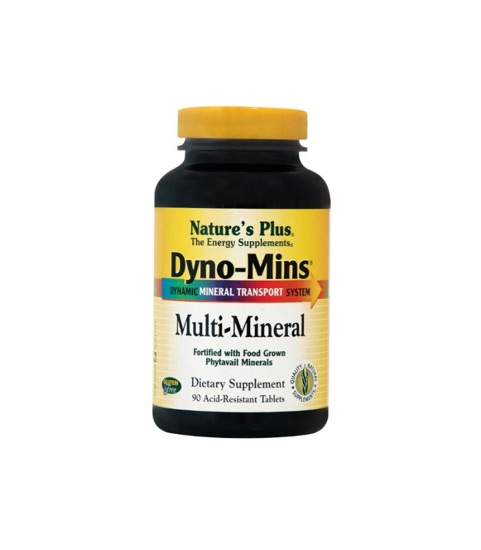 Dyno-Mins Multi Minerals 90 ταμπλέτες, Nature's Plus