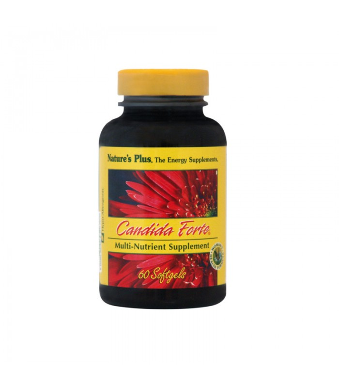 Candida Forte 60caps, Nature's Plus