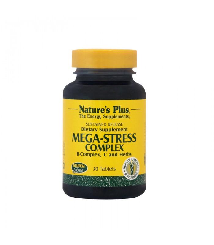 Mega-Stress Φόρμουλα Κατά του Στρες 30tabs, Nature's Plus