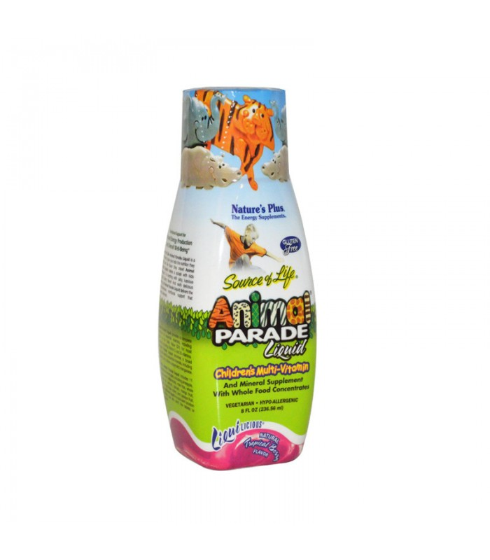 Animal Parade Liquid 237ml, Nature's Plus