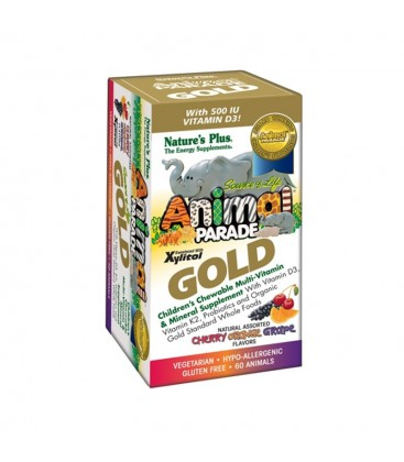 Animal Parade Gold Assorted 60ταμπ. Nature's Plus