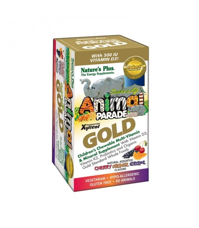 Animal Parade Gold Assorted 60ταμπ. Nature's Plus
