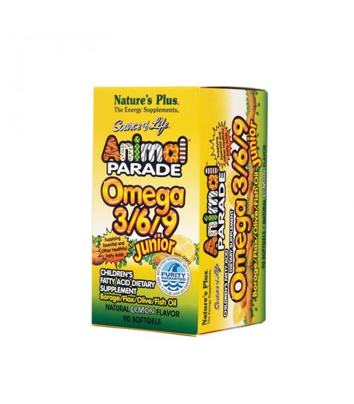 Omega 3/6/9 Junior 90 κάψουλες, Nature's Plus