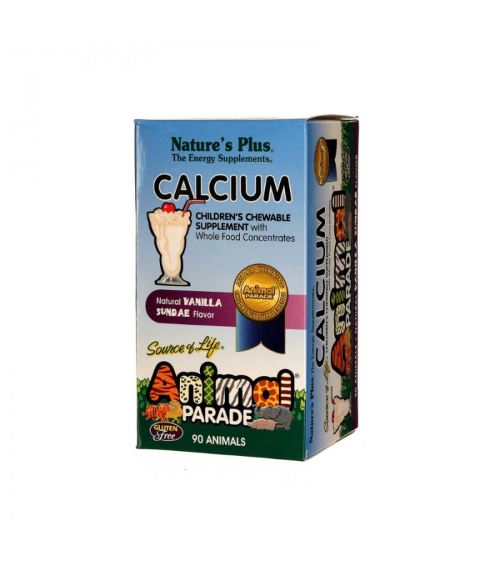 Animal Parade Calcium 90 Μασώμενες Ταμπλ. Nature's Plus