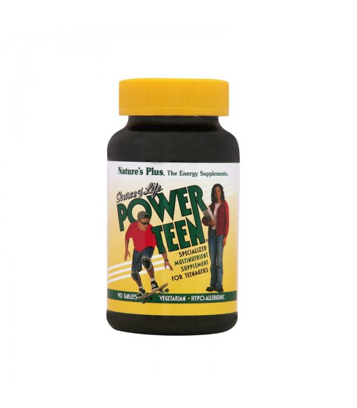 Power-Teen Φόρμουλα για Εφήβους 90 ταμπλέτες, Nature's Plus