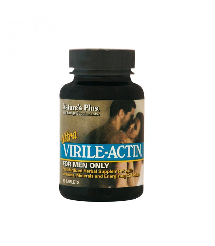Ultra Virile-Actin 60 ταμπλέτες, Nature's Plus
