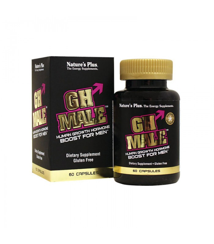 GH Male 60 κάψουλες, Nature's Plus
