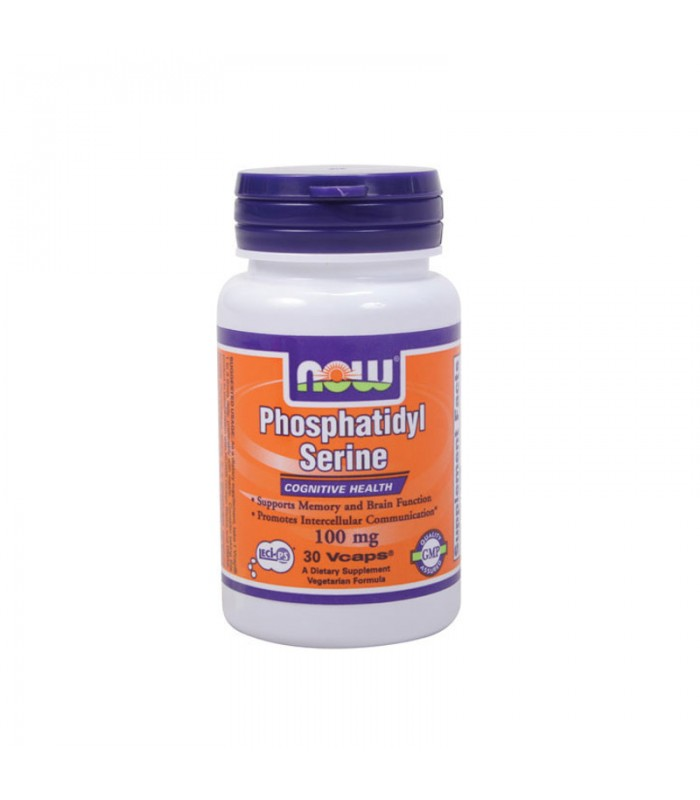 Phosphatidyl Serine 100mg 30 Vcaps, Now Foods