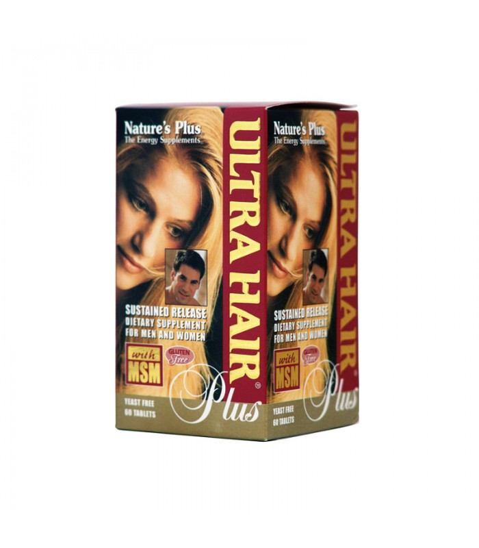 Ultra Hair Plus 60 ταμπλέτες, Nature's Plus