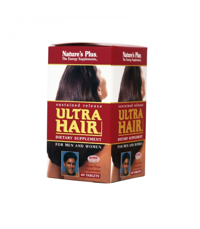 Ultra Hair 60 ταμπλέτες, Nature's Plus