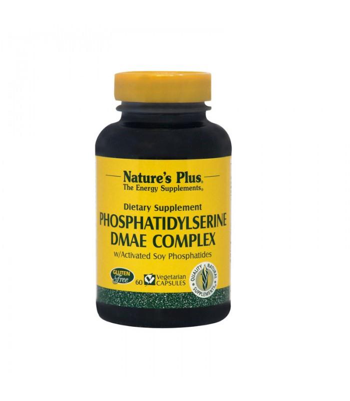 Phosphatidylserine DMAE Complex 60 κάψουλες, Nature's Plus