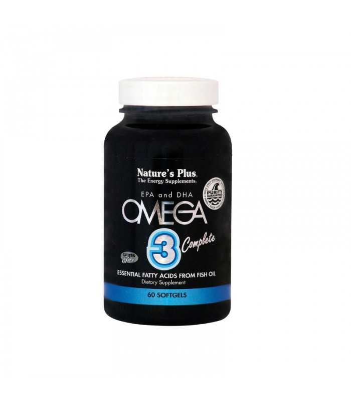 Omega-3 Complete 60 κάψουλες, Nature's Plus