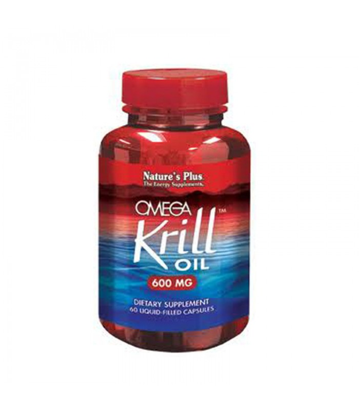 Omega Krill Oil 600mg 60 κάψουλες, Nature's Plus