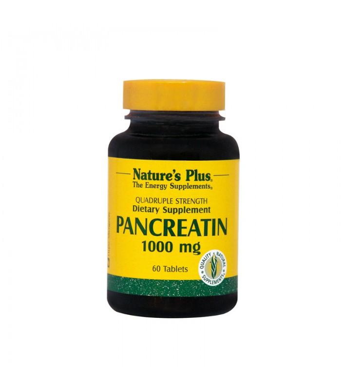 Pancreatin 60 ταμπλέτες 1000mg, Nature's Plus