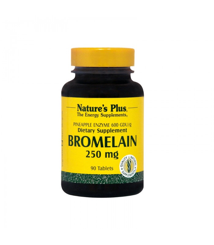 Bromelain 90 ταμπλέτες 250mg, Nature's Plus