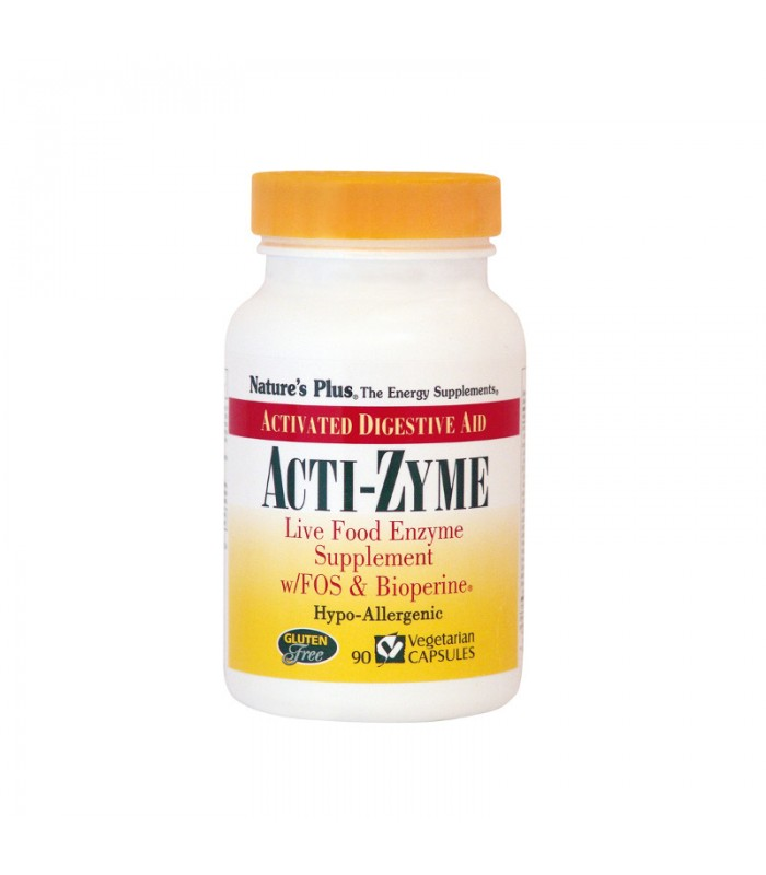 Acti-Zyme 90 ταμπλέτες, Nature's Plus