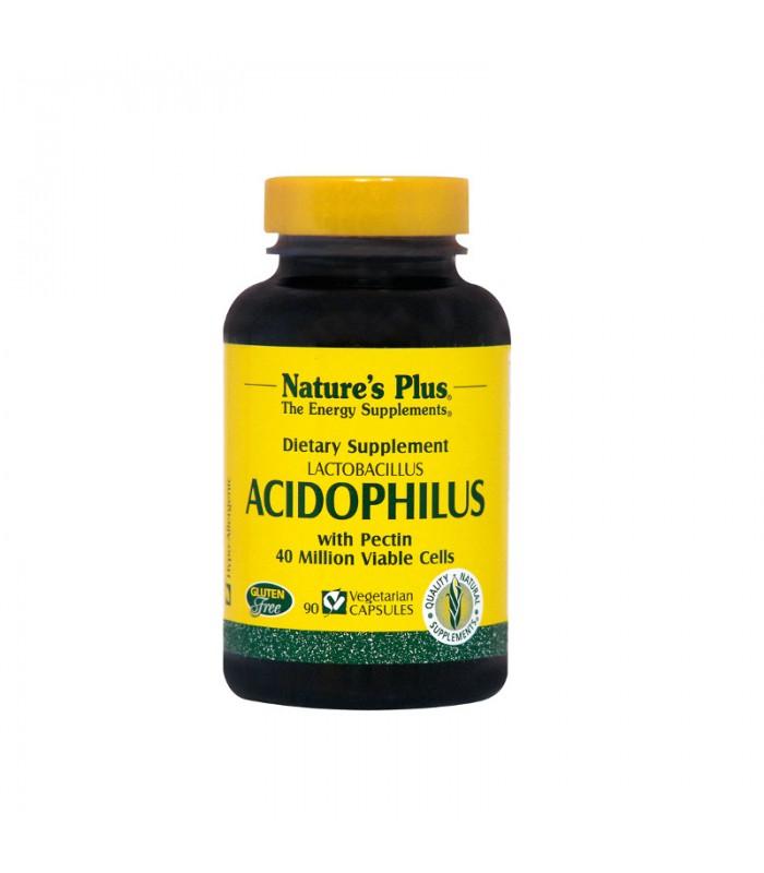 Acidophilus 90 κάψουλες, Nature's Plus