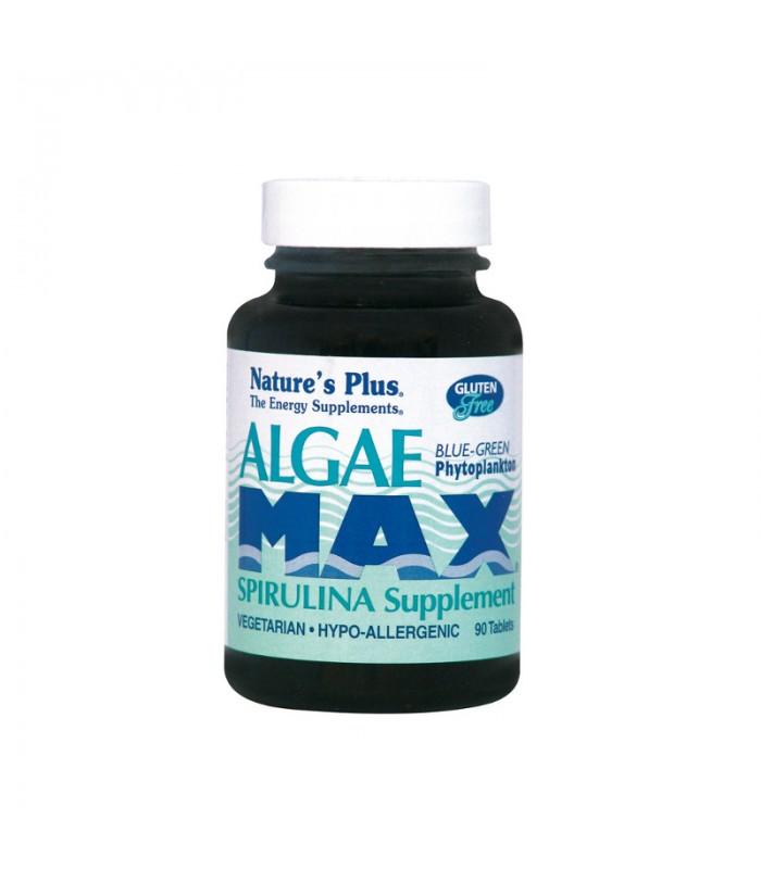 Algae Max Σπιρουλίνα 90 ταμπλέτες 500mg, Nature's Plus