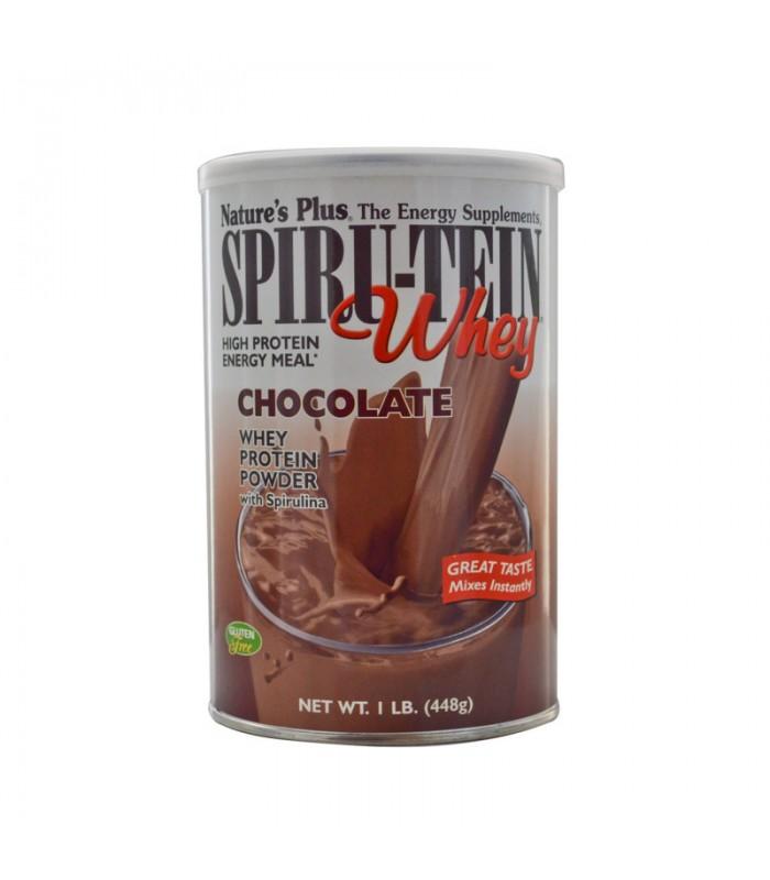 Spiru-Tein Whey Σοκολάτα 476γρ., Nature's Plus