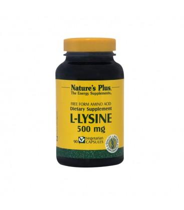 L-Lysine 500mg 90καψ. Nature's Plus