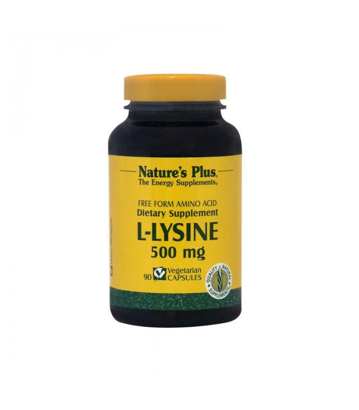 L-Lysine 90 κάψουλες 500mg, Nature's Plus