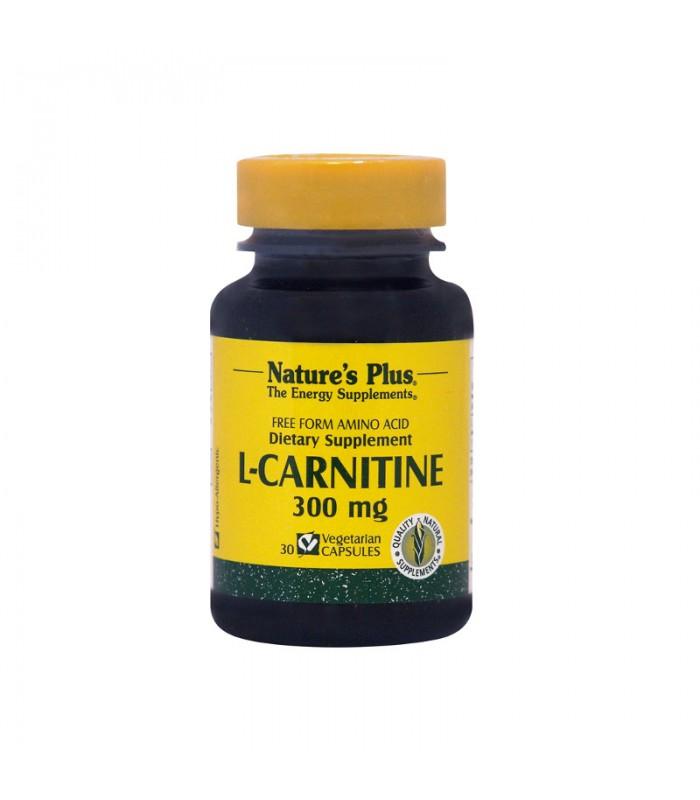 L-Carnitine 30 κάψουλες 300mg, Nature's Plus