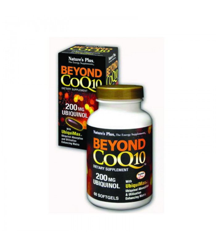 Beyond CoQ10 200mg Ubiquinol 30 κάψουλες, Nature's Plus