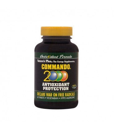 Commando 2000 (Αντιοξειδωτικό) 60ταμπ. Nature's Plus