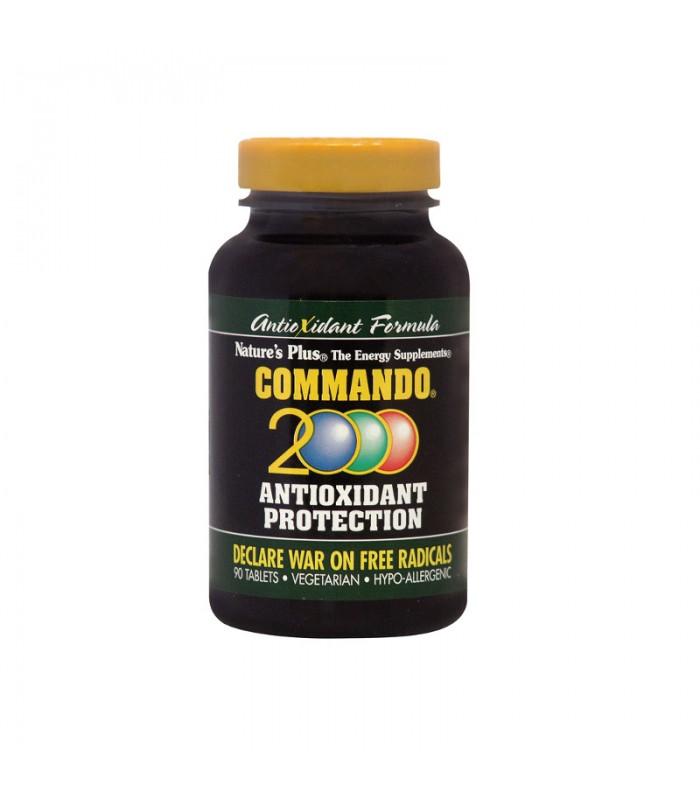 Commando 2000 Αντιοξειδωτικό 90 ταμπλέτες, Nature's Plus