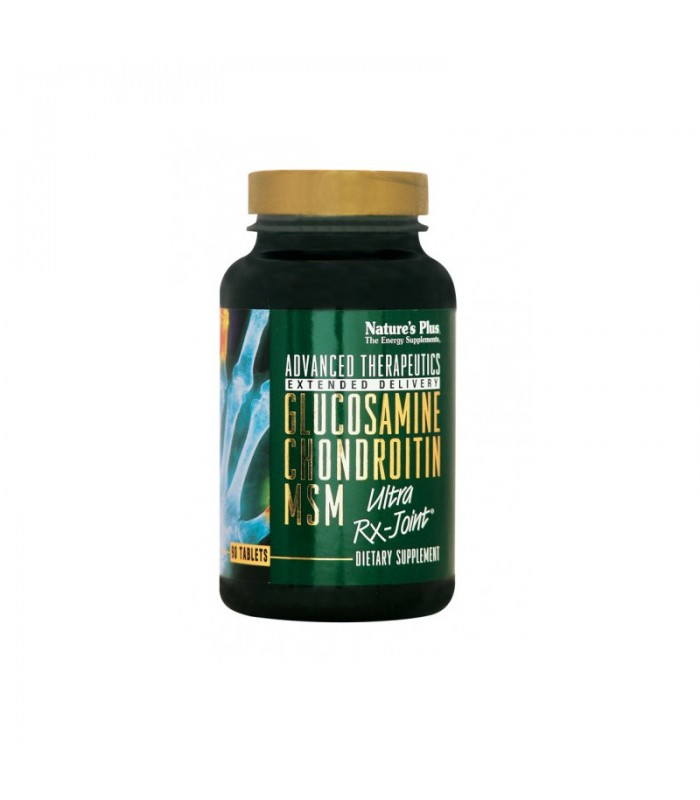 Glucosamine-Chondroitin Ultra Rx-Joint Support 60 ταμπλέτες, Nature's Plus