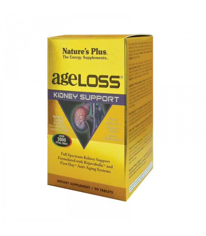 Ageloss Kidley Support 90 κάψουλες, Nature's Plus