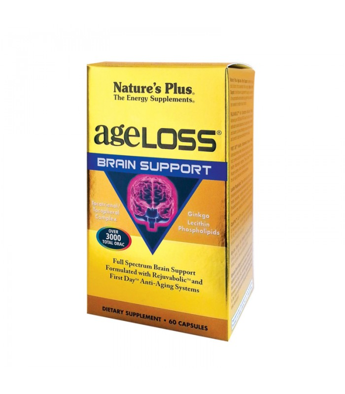 Ageloss Brain Support 60 κάψουλες, Nature's Plus