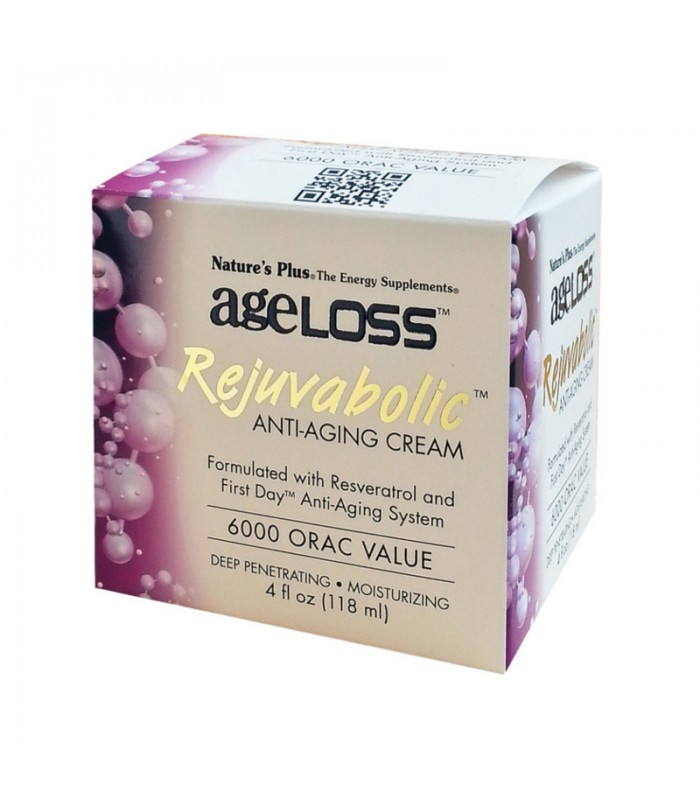Ageloss Anti-Aging Cream 118ml, Nature's Plus