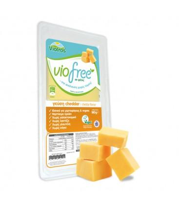 Φυτικό Τυρί Σε Φέτες 180gr Cheddar Viofree