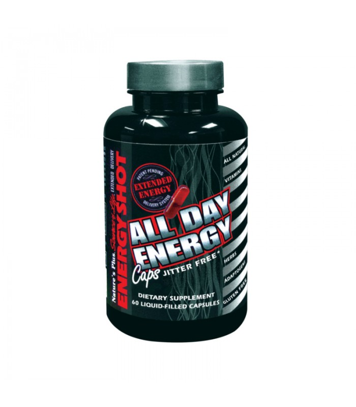 All Day Energy 60 κάψουλες, Nature's Plus