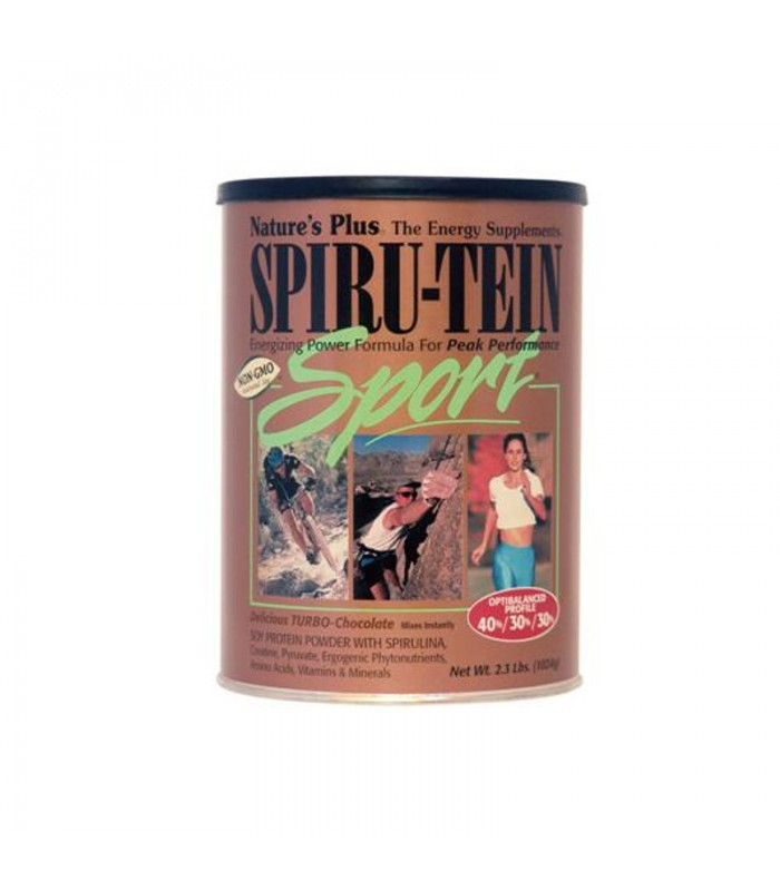 Spiru-Tein Sport Turbo-Chocolate 1024γρ., Nature's Plus