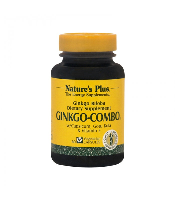 Ginkgo-Combo 60 κάψουλες, Nature's Plus