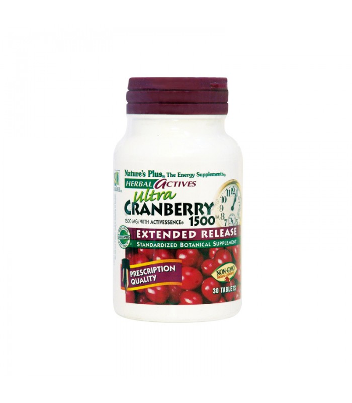 Ultra Cranberry 1500 30 κάψουλες, Nature's Plus