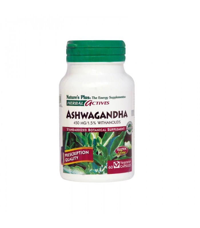 Ashwagandha 450mg 60 φυτικές κάψουλες, Nature's Plus
