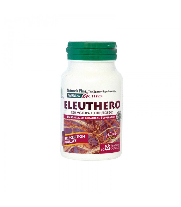 Eleuthero 250mg 60 φυτικές κάψουλες, Nature's Plus
