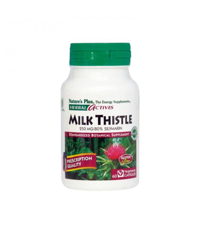 Milk Thistle 250mg 60 φυτικές κάψουλες, Nature's Plus
