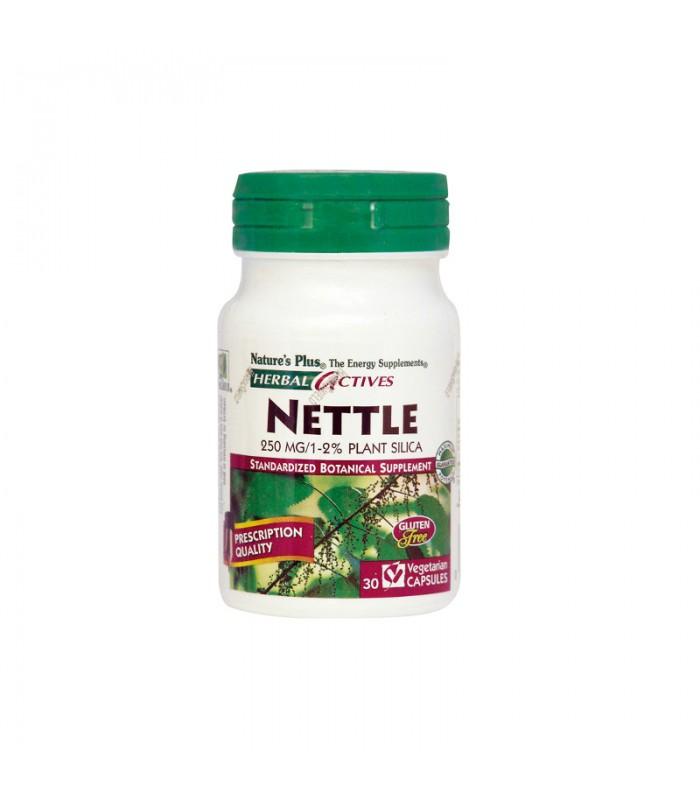 Nettle Τσουκνίδα 250mg 30 φυτικές κάψουλες, Nature's Plus