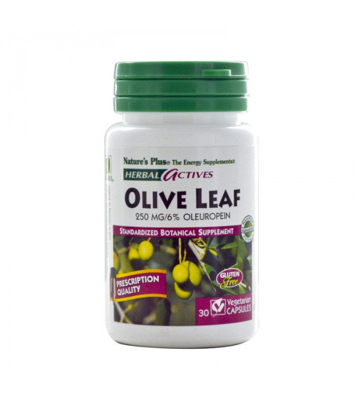 Olive Leaf 250mg 30 φυτικές κάψουλες, Nature's Plus