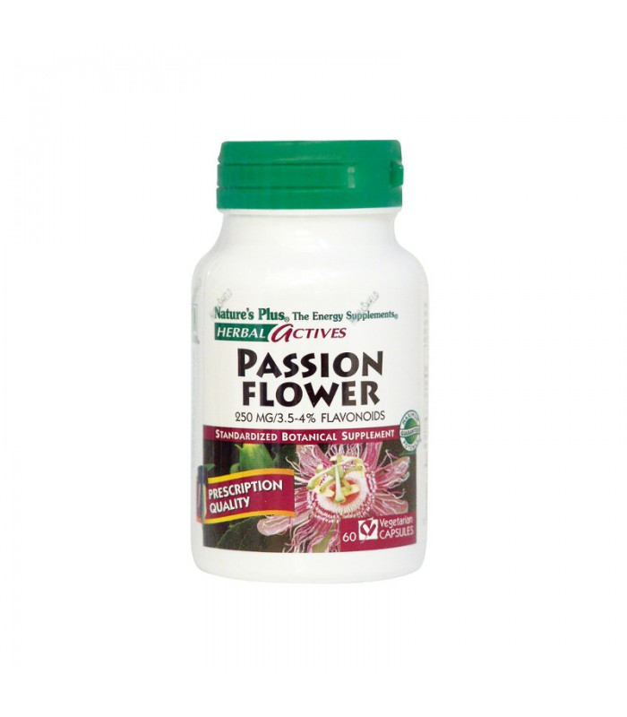 Passion Flower 250mg 60 φυτικές κάψουλες, Nature's Plus
