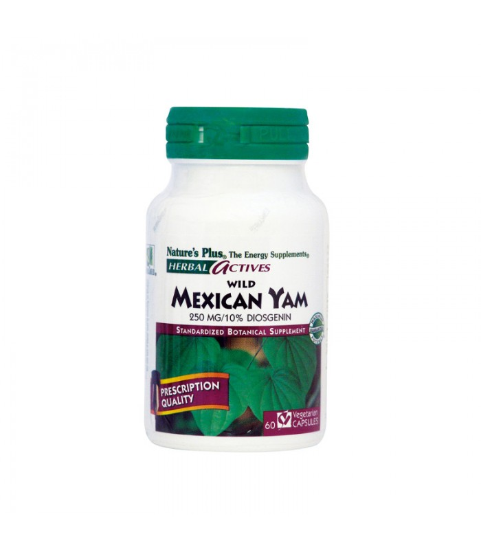 Wild Mexican Yam 250mg 60 φυτικές κάψουλες, Nature's Plus