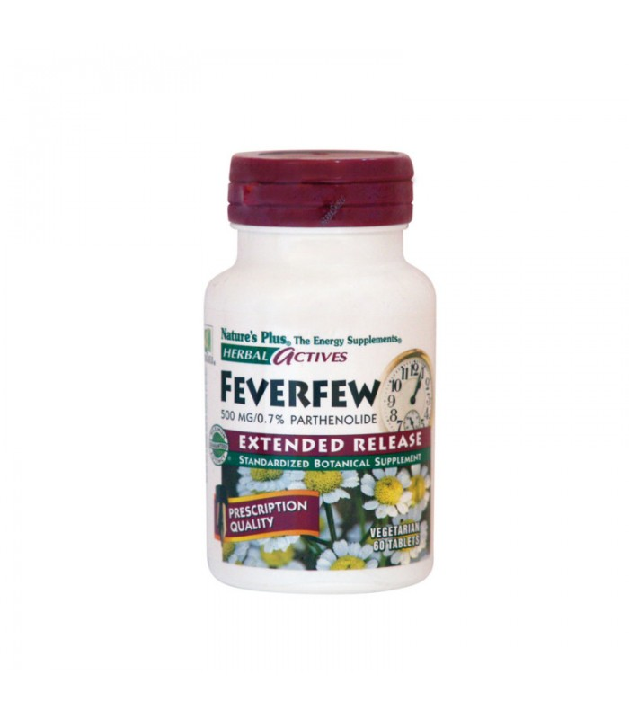Feverfew 500mg 60 ταμπλέτες, Nature's Plus