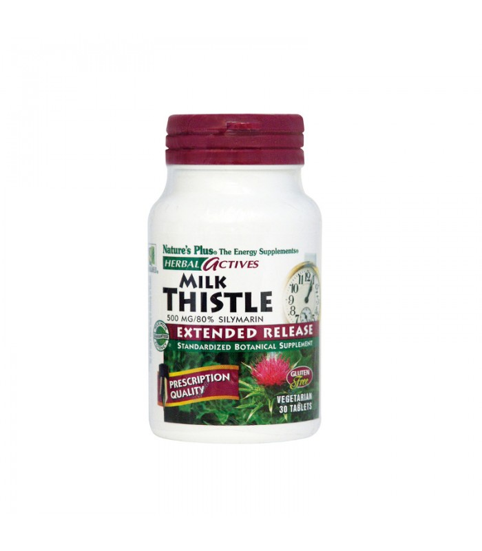 Milk Thistle 500mg 30 ταμπλέτες, Nature's Plus