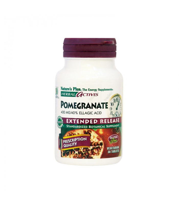Pomegranate 400mg 30 ταμπλέτες, Nature's Plus