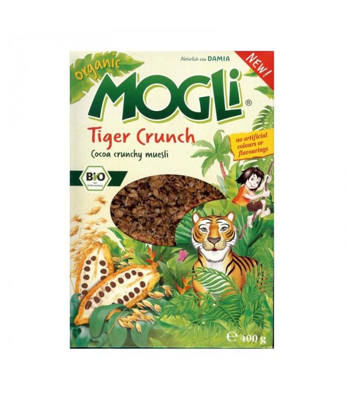 Βιολογικό Μούσλι με Κακάο Tiger Crunch Bio 400γρ., Mogli