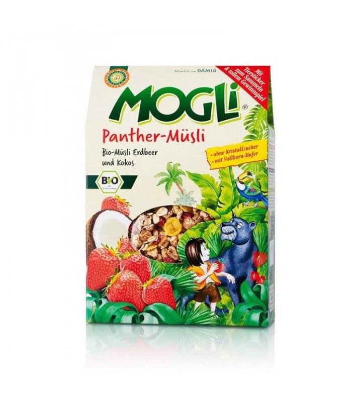 Βιολογικό Μούσλι με Φράουλα & Καρύδα Bio 325γρ., Mogli